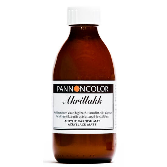 Akril lakk, matt, 200ml, Pannoncolor